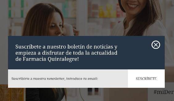 farmacia en internet recogoda de datos